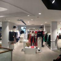 Ladeneinrichtung Claudie Pierlot in Lausanne