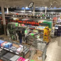 amenagement interieur magasin lidl geneve