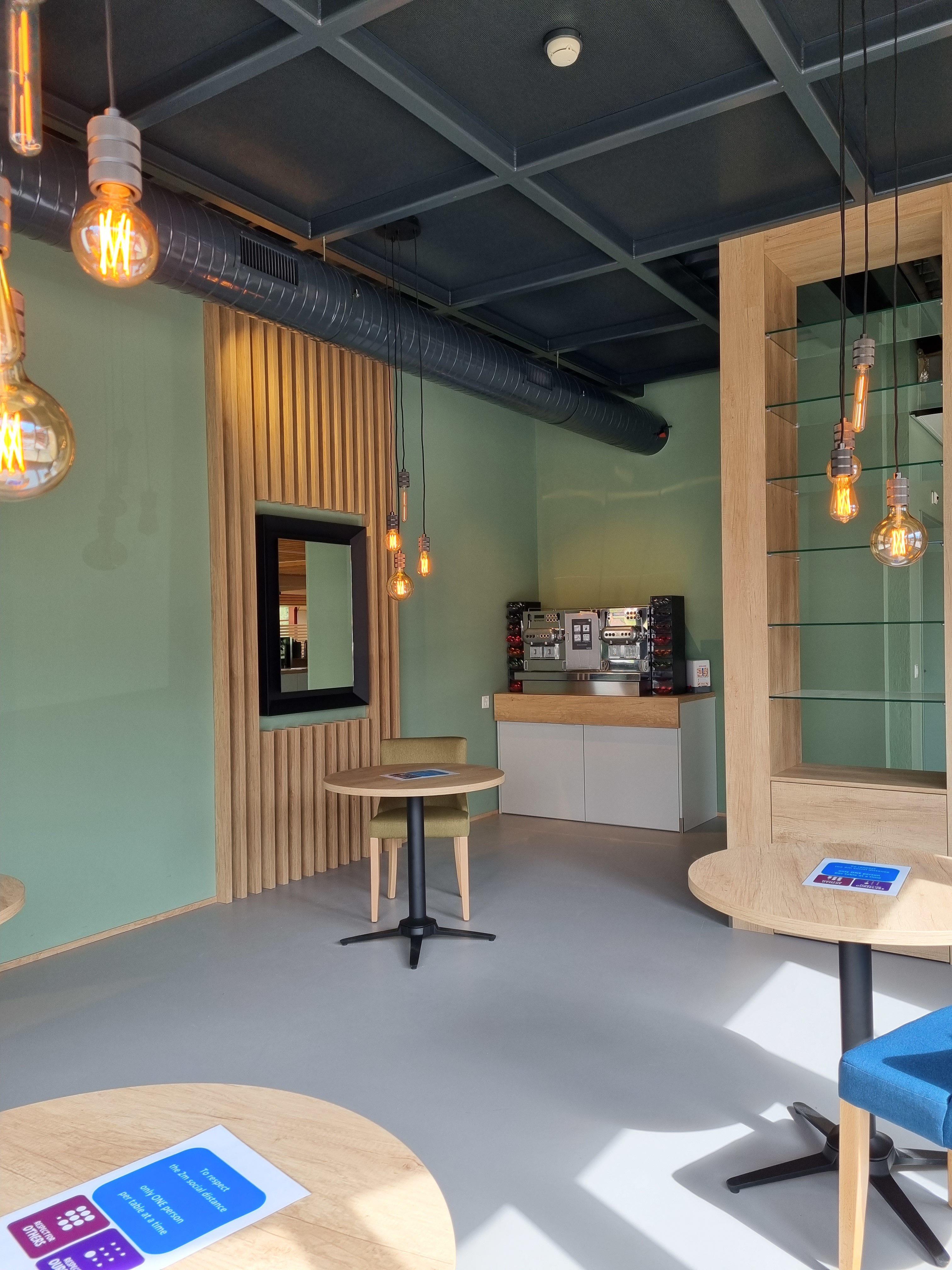 Nestlé cafétéria lausanne rénovation